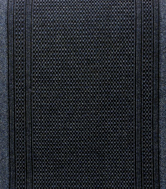 KÄYTÄVÄMATTO AZTEC Leveys 80cm Sininen (J06V), Matot ja liukuesteet, Kuramatot, Käytävämatot