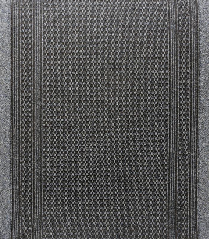 KÄYTÄVÄMATTO AZTEC Leveys 80cm Siniharmaa (J10V), Matot ja liukuesteet, Kuramatot, Käytävämatot