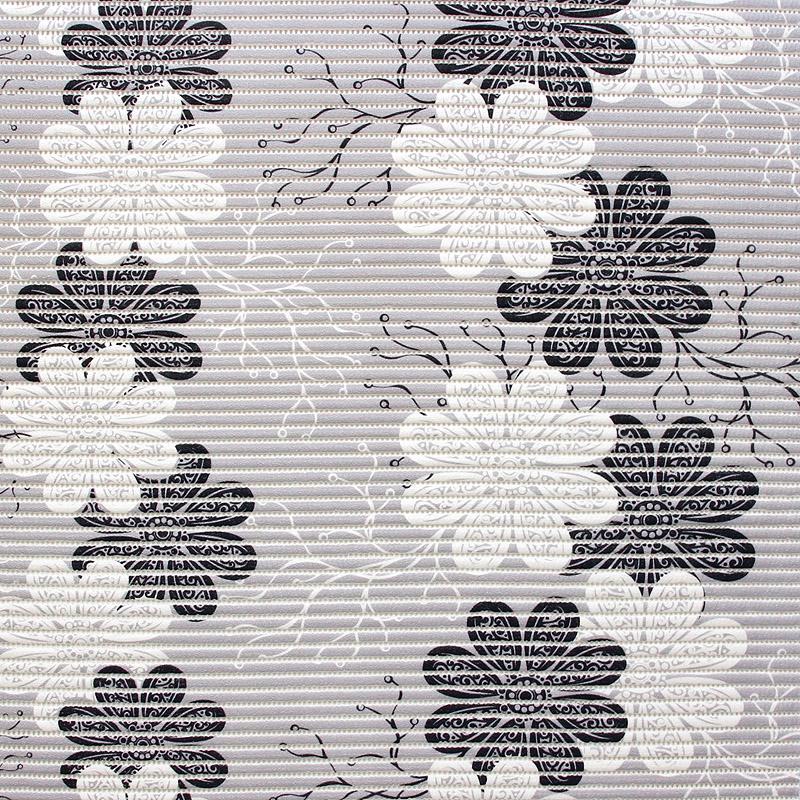 KOSTEANTILAN MATTO Kukka harmaa (MT133V), Matot ja liukuesteet, Kosteantilan matot