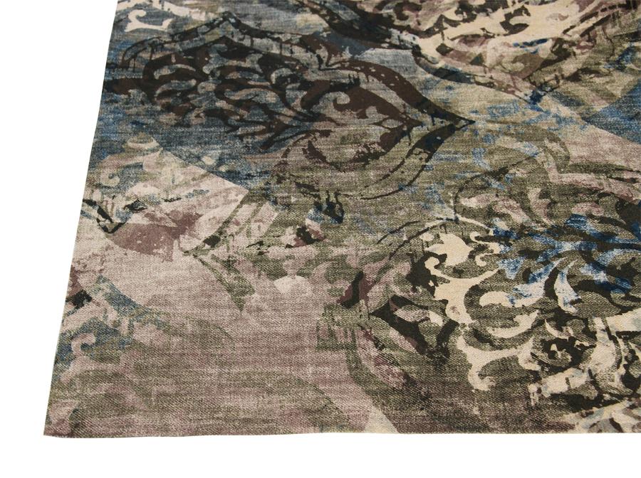 Verhoilukangas Jade Barock (TXT052V), Kankaat, Huonekalukankaat
