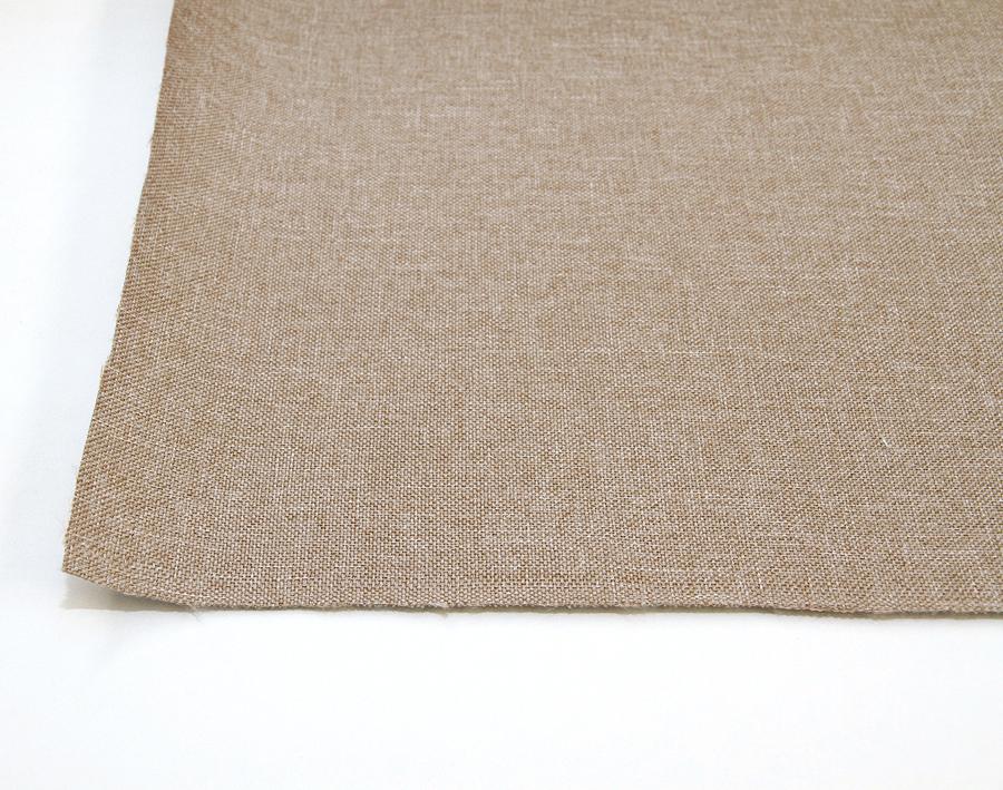 Verhoilukangas Tiago, pellavainen beige (TXT079V), Kankaat, Huonekalukankaat