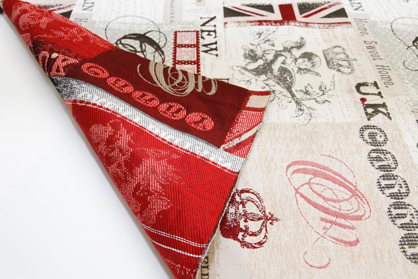 Jacquard kangas Great Britain (BB001V), Kankaat, Sisustuskankaat