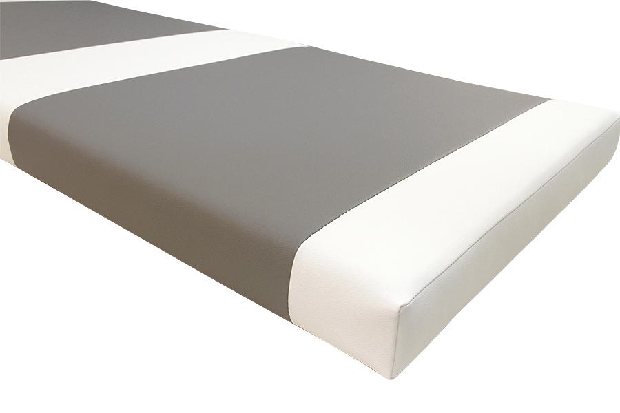 Keinonahka, valkoinen (FR02V), Kankaat, Keinonahka - Tekonahka