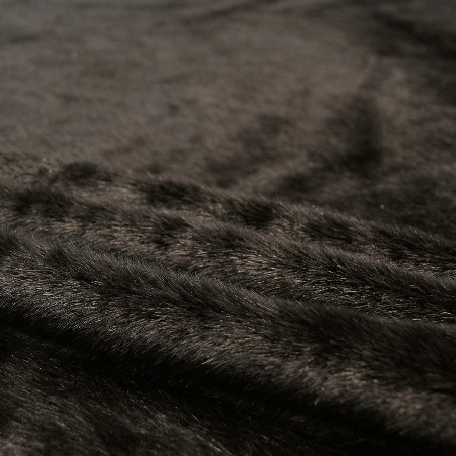 Keinoturkiskangas Minkki, musta (LK029V), [field_category]