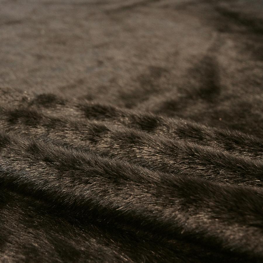 Keinoturkiskangas Minkki, tummanruskea (LK034V), [field_category]