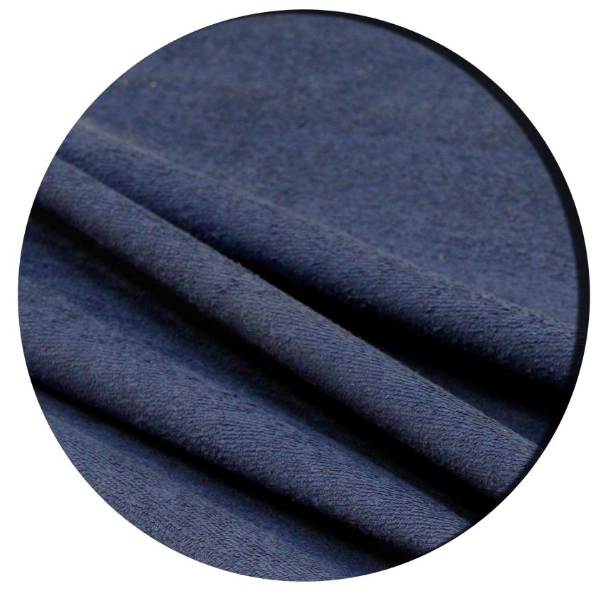 Muovitettu frotee leveys n. 150cm Tummansininen lievä B-laatu (KP08V), [field_category]