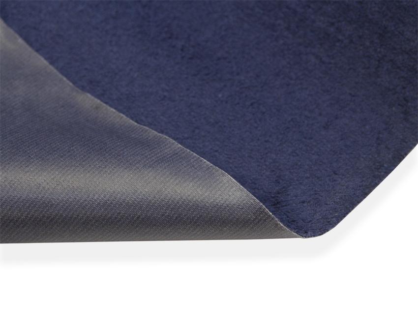 Muovitettu frotee leveys n. 150cm Tummansininen lievä B-laatu (KP08V), Kankaat, Kosteussuojakangas, Muovitettu frotee, Muut apuvälineet, Kosteussuojat