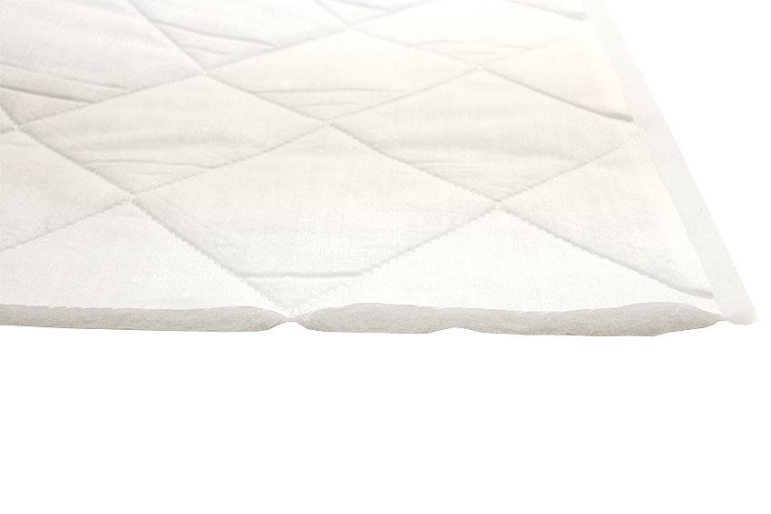 Tikattu valkoinen patjakangas leveys 220cm (DX10), Kankaat, Patjakangas