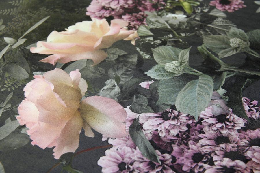 Samettikangas Bouquet LEVEYS 290cm (TP061V), Kankaat, Huonekalukankaat, Sametti- ja mokkapintaiset verhoilukankaat