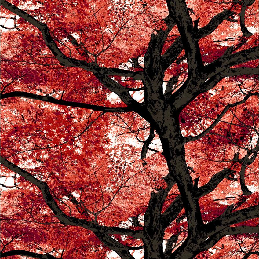 Vallila kangas, Vaahtera punainen  lev. 150cm (V91V), [field_category]