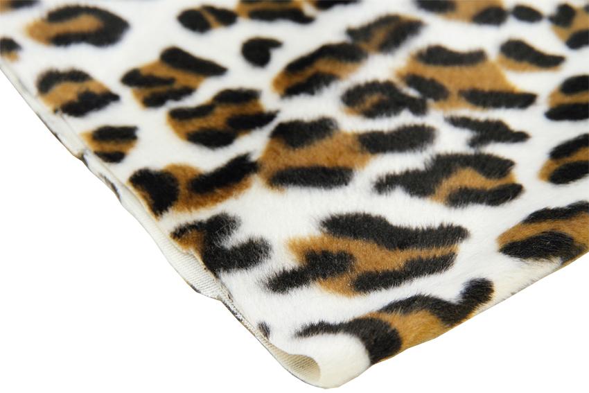 Velour kangas Leopardi (IT1060V), Kankaat, Tekoturkis ja Eläinkuosit