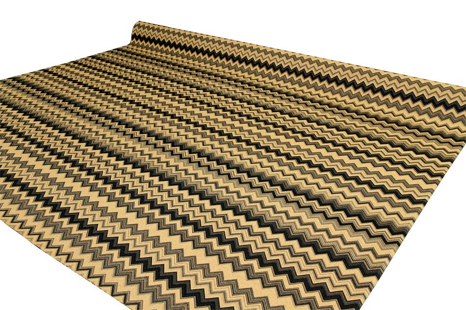 Verhoilukangas Jade Chevron (TXT055V), Kankaat, Huonekalukankaat