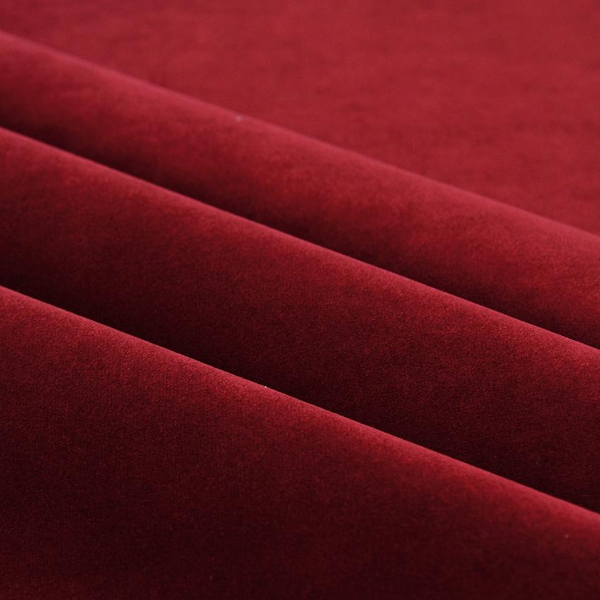 Verhoilusametti Aveliina Punainen (TXT067V), Kankaat, Huonekalukankaat, Sametti- ja mokkapintaiset verhoilukankaat
