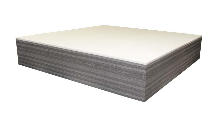Jousiammuntatausta - Kilpatausta 100x100x20cm (IN98), Solumuovit, Sekalaiset (suojat, rullat, sidontanauhat, jousiammuntataustat)