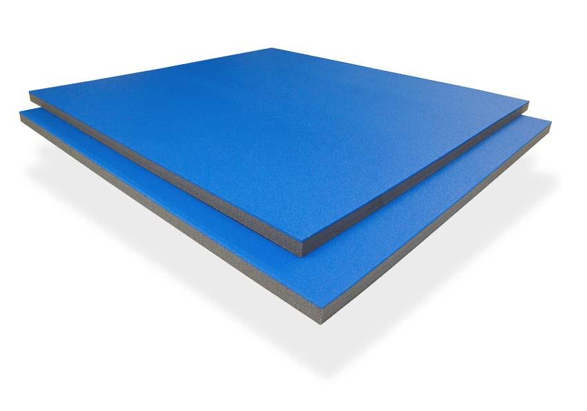 Solumuovipala n. 100x106x3cm Sini-Harmaa (IN42V), Solumuovit, Solumuovit paloittain