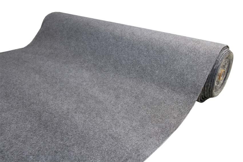 Neulattu huopa ANTI SLIP 100% Polyesteri lev. 150cm (IM010V), Täyteaineet ja levyvanut, Kierrätyshuopa - Neulattu huopa - Pehmikehuopa
