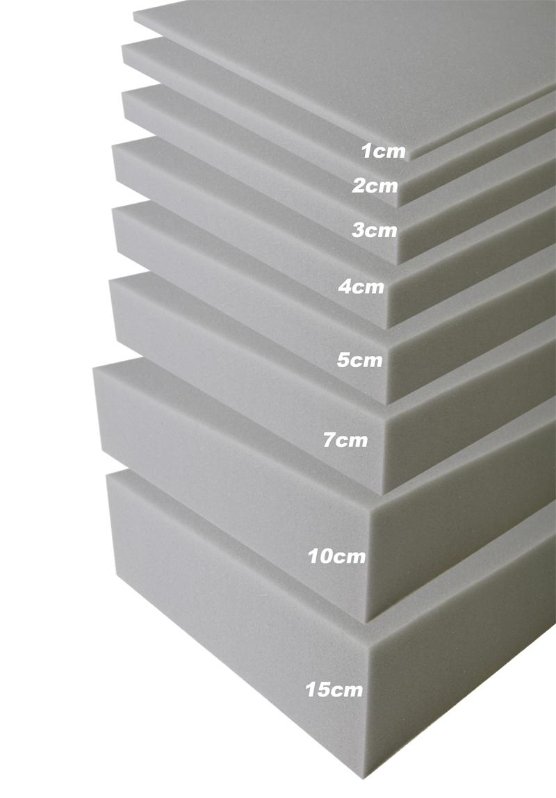 Vaahtomuovi 160x200x2cm , Vaahtomuovit, Vaahtomuovi 2cm