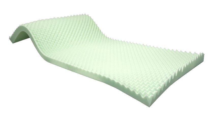 Profiloitu Formax Vaahtomuovi 200x90x6,8cm, Vaahtomuovit, Viskoelastinen vaahtomuovi