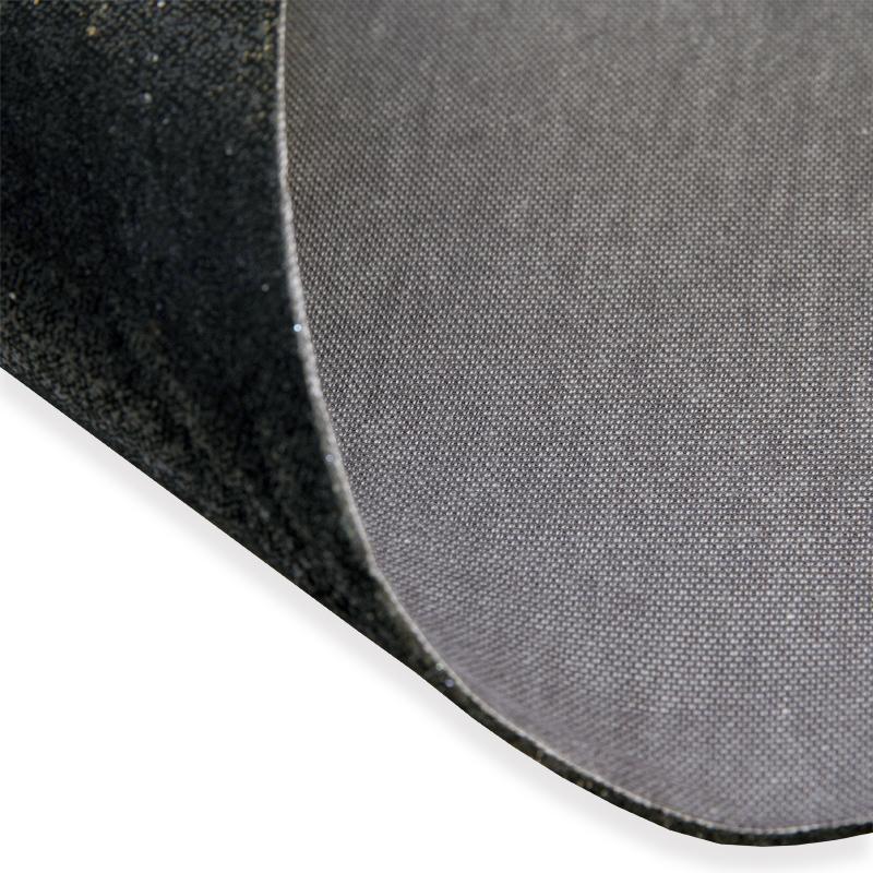 Laminoitu kaksipuoleinen vaahtomuovi, musta/harmaa (LK056V), Vaahtomuovit, Vaahtomuovi 3mm, 4mm, 5mm ja 6mm, Vaahtomuovi laminoitu