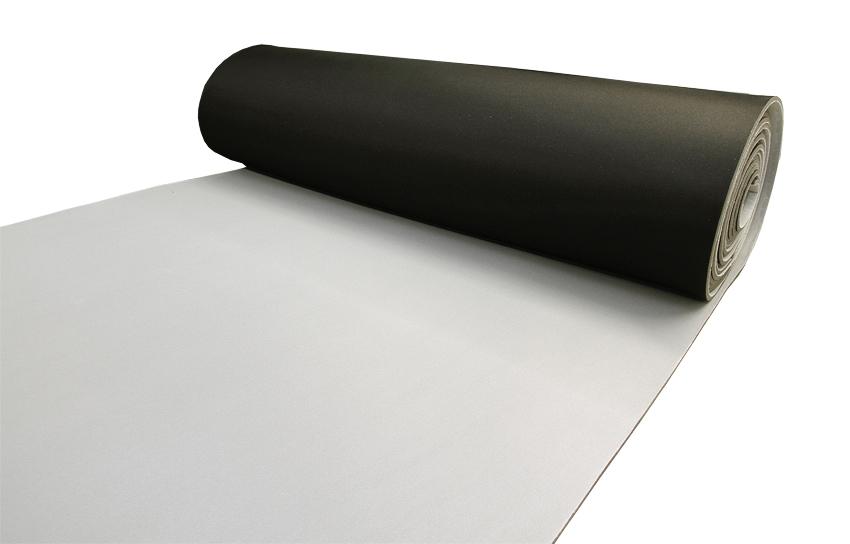 Laminoitu vaahtomuovi 6mm, leveys 160cm (SI118V), Vaahtomuovit, Vaahtomuovi 3mm, 4mm, 5mm ja 6mm, Vaahtomuovi laminoitu