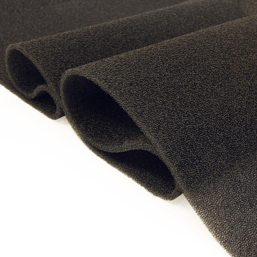 Suodatin vaahtomuovi 75x200x1cm (RCBP007), Vaahtomuovit, Suodatin vaahtomuovi