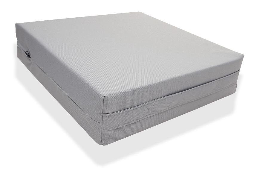 Istuinkoroke kantokahvalla 48x48x10cm (OT130V), Apuvälineet ja tuotteet terveydenhoitoon, Päällystetyt istuinkorokkeet