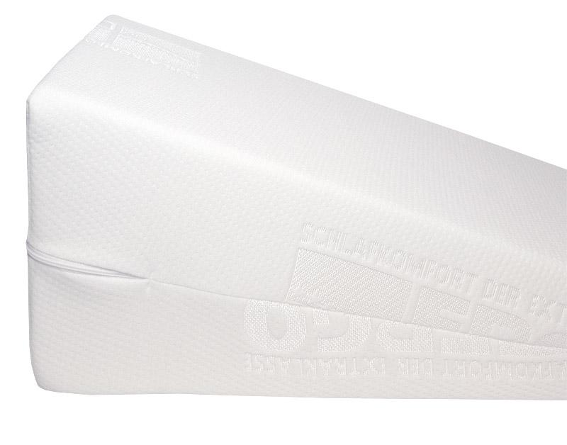 Kiilatyyny - jalan kohoasento hoitoon, päällystetty, leveys 80cm (OT32V), Apuvälineet ja tuotteet terveydenhoitoon, Kiilatyynyt - päällystetyt