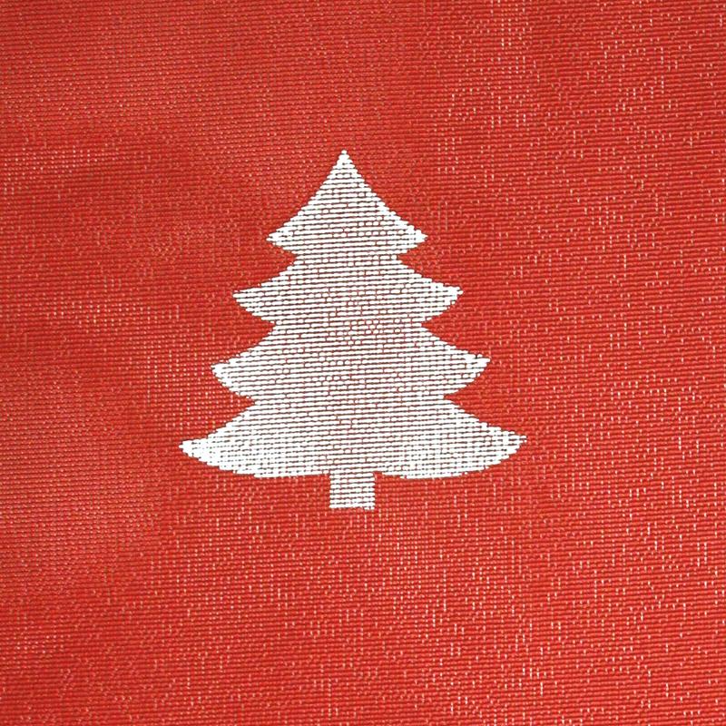 Joulu kaitaliina lev. 40cm Kuusi (J122V), Vahakankaat ja pitsiliinat, Pitsiliinat, kaitaliinat