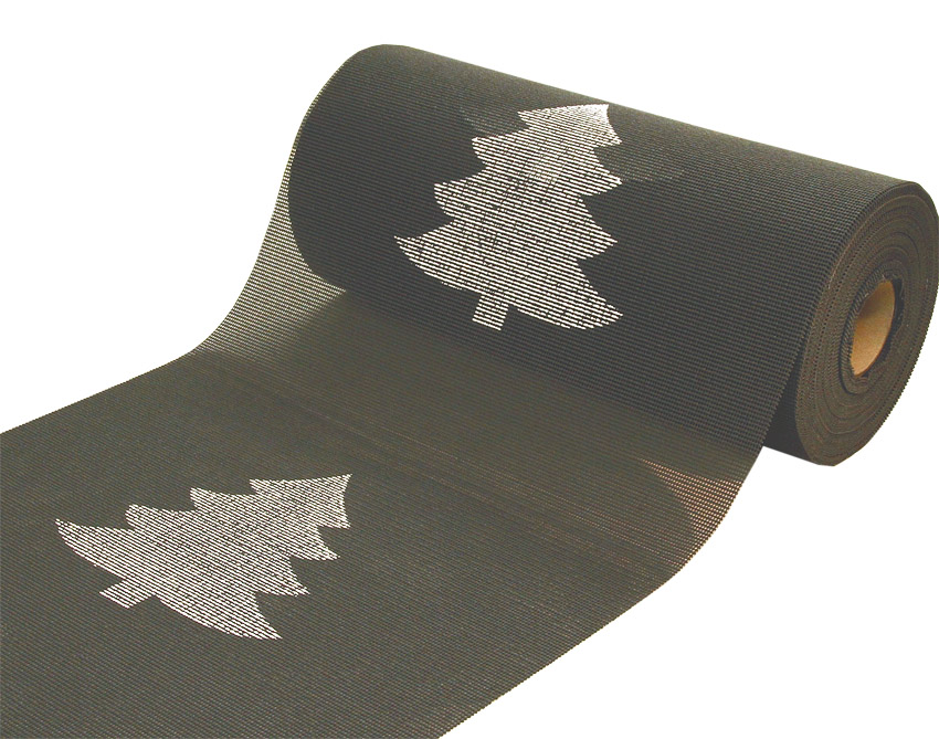 Joulu kaitaliina lev. 40cm Kuusi Harmaa (J107V), [field_category]