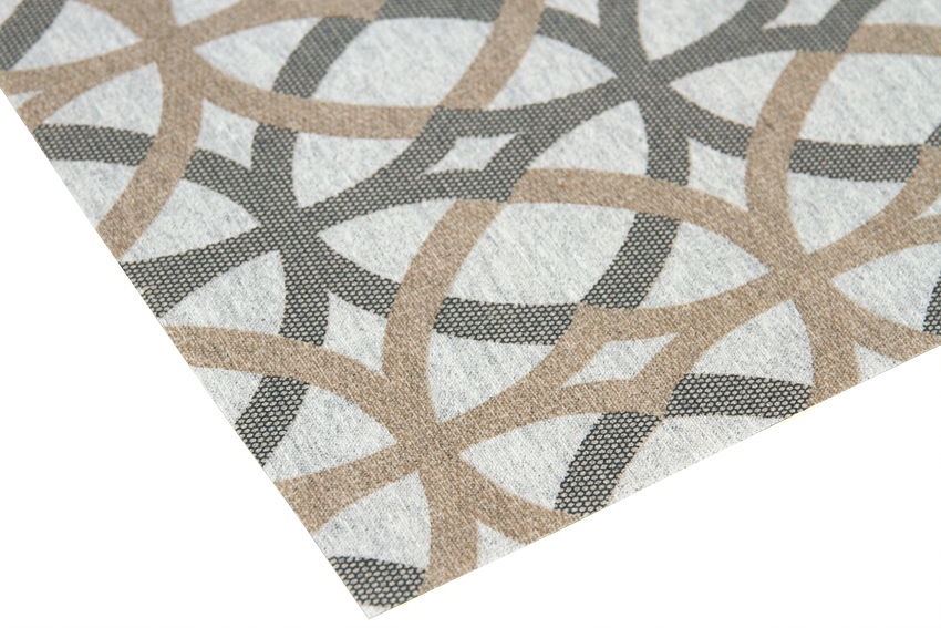 Vahakangas Ympyrät (IT1001V), Vahakankaat ja pitsiliinat, Tekstiilivahakankaat
