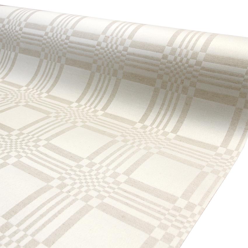 Vahakangas Akrylaatti Beige Damast (IT1131V), Vahakankaat ja pitsiliinat, Tekstiilivahakankaat