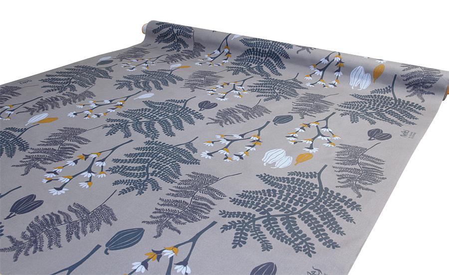 VAHAKANGAS - KERNILIINA Oriental Garden, Blue Moon (IT1128V), Vahakankaat ja pitsiliinat, Tekstiilivahakankaat