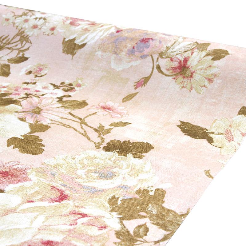 Vahakangas Akrylaatti Roses Roosa (MT122V), Vahakankaat ja pitsiliinat, Tekstiilivahakankaat