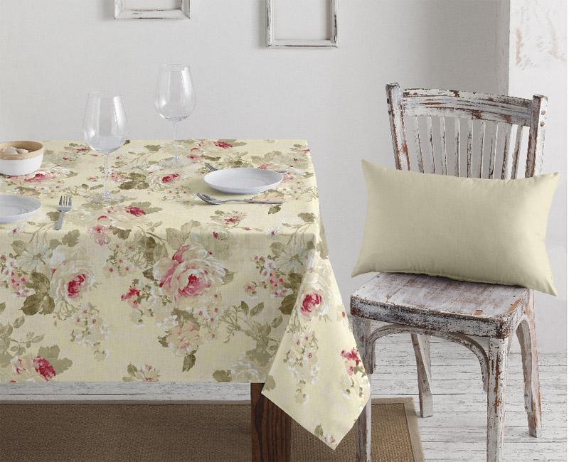 Vahakangas Akrylaatti Roses Vaalea (MT121V), Vahakankaat ja pitsiliinat, Tekstiilivahakankaat