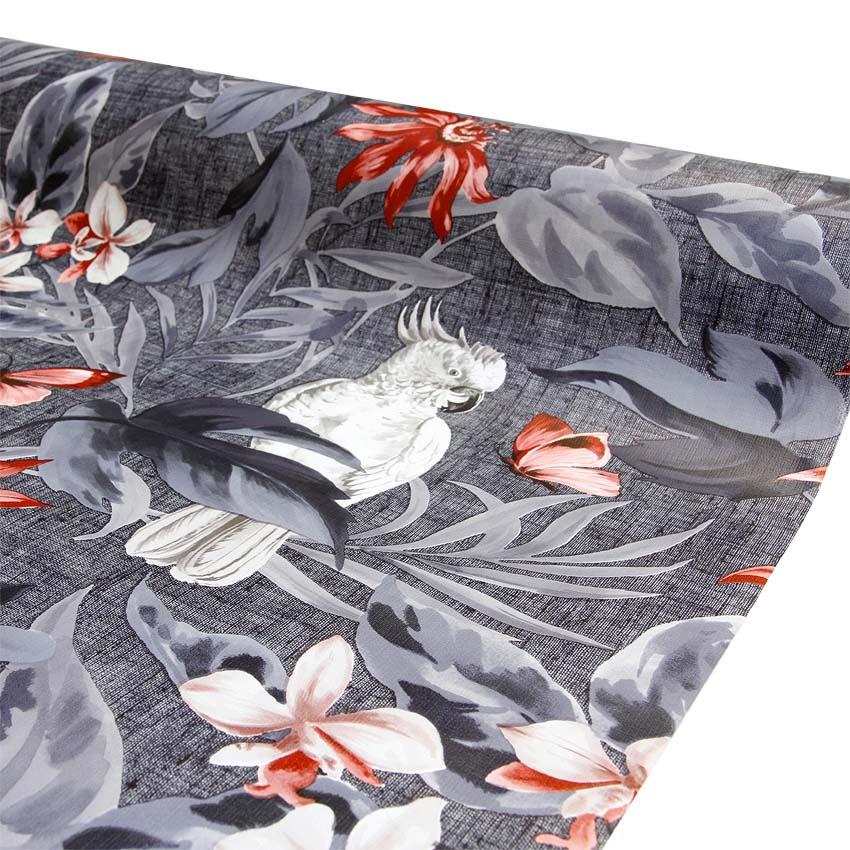 Vahakangas Valkoinen Kakadu (MT74V), Vahakankaat ja pitsiliinat, Vahakankaat lev. 140cm
