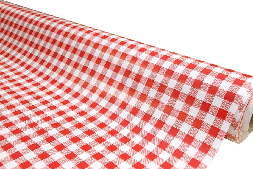 Vahakangas Pikkuruutu Punainen, lev. 120cm (IT1092V), Vahakankaat ja pitsiliinat, Vahakankaat lev. 120 cm