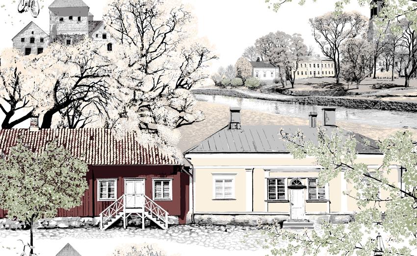 Vahakangas Turku, Vallila (V139V), Vahakankaat ja pitsiliinat, VALLILA vahakankaat