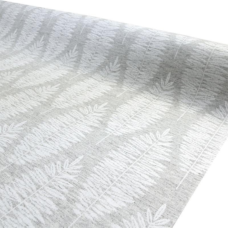 Vahakangas Akrylaatti Harmaa Sulka (IT1138V), Vahakankaat ja pitsiliinat, Tekstiilivahakankaat
