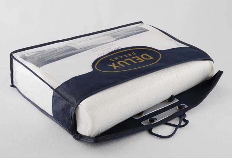 Viskoelastinen tyyny 33x50x12cm DX25V, Tyynyt ja sisätyynyt, Nukkumatyynyt, Ergonomiset tyynyt