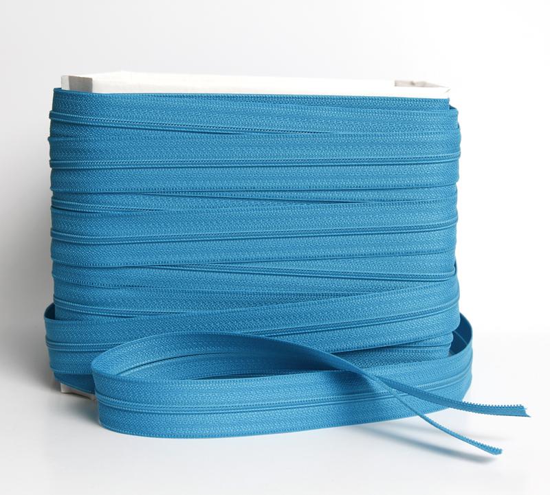 Vetoketju metreittäin, 4mm E-Väri Turkoosi (FR150V), [field_category]