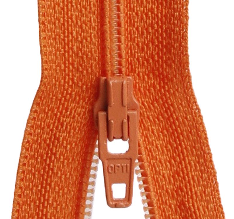 Vedin, Oranssi 4mm (FR299AV), Ompelutarvikkeet, Vetoketjujen vetimet