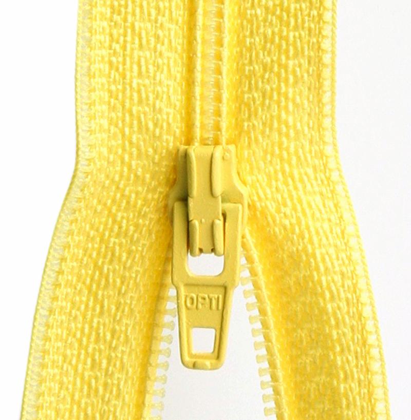 Vetoketju metreittäin, 4mm E-Väri Keltainen (C075V), Ompelutarvikkeet, Vetoketjut, metriketjut