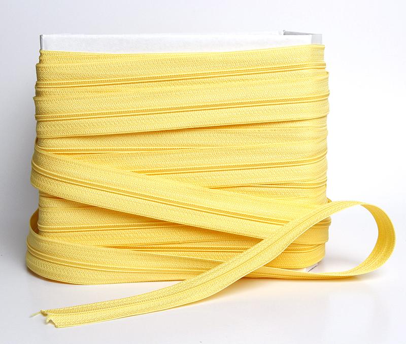Vetoketju metreittäin, 4mm E-Väri Keltainen (C075V), [field_category]