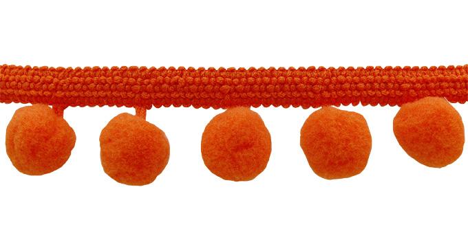 Iso POM POM-nauha, oranssi (DT009V), Ompelutarvikkeet, POM POM pompulanauhat