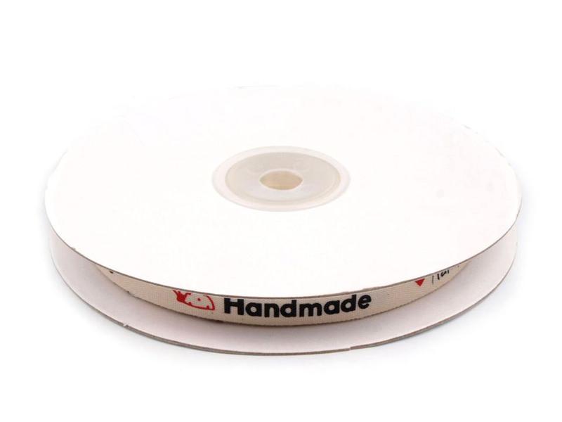 HANDMADE nauha lev. 10mm (ST029V), Ompelutarvikkeet, Handmade nauhat ja merkit