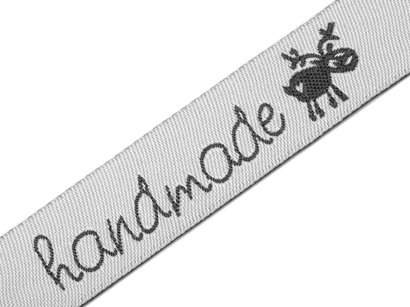 HANDMADE nauha lev. 16mm (ST068MHV), Ompelutarvikkeet, Handmade nauhat ja merkit