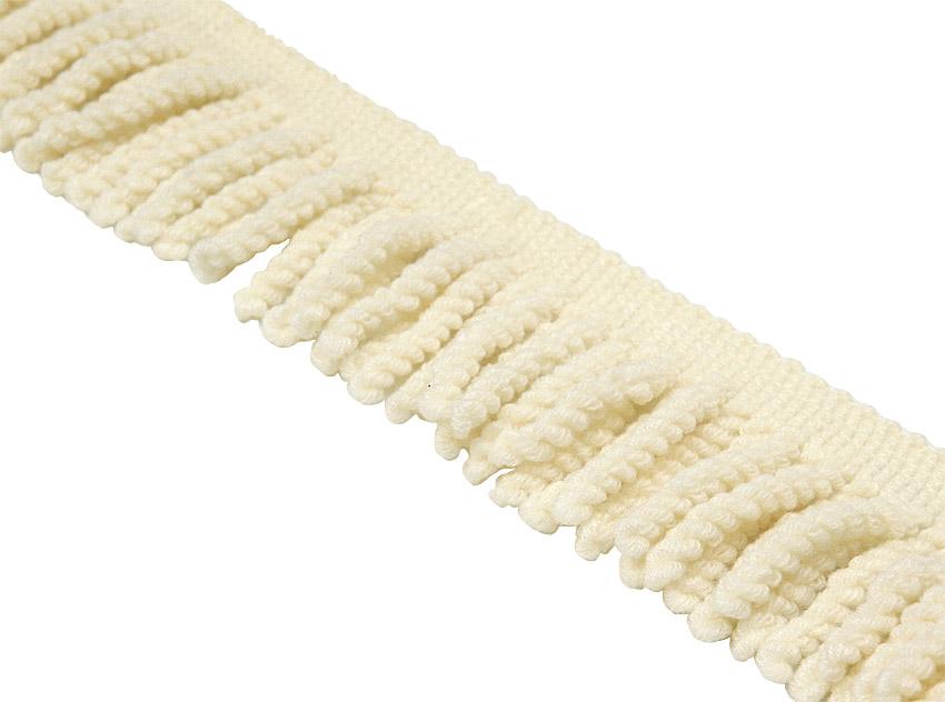 Elastinen kierrehapsunauha Luonnonvalkoinen (DT015V), Ompelutarvikkeet, Hapsunauhat ja Tupsunauhat
