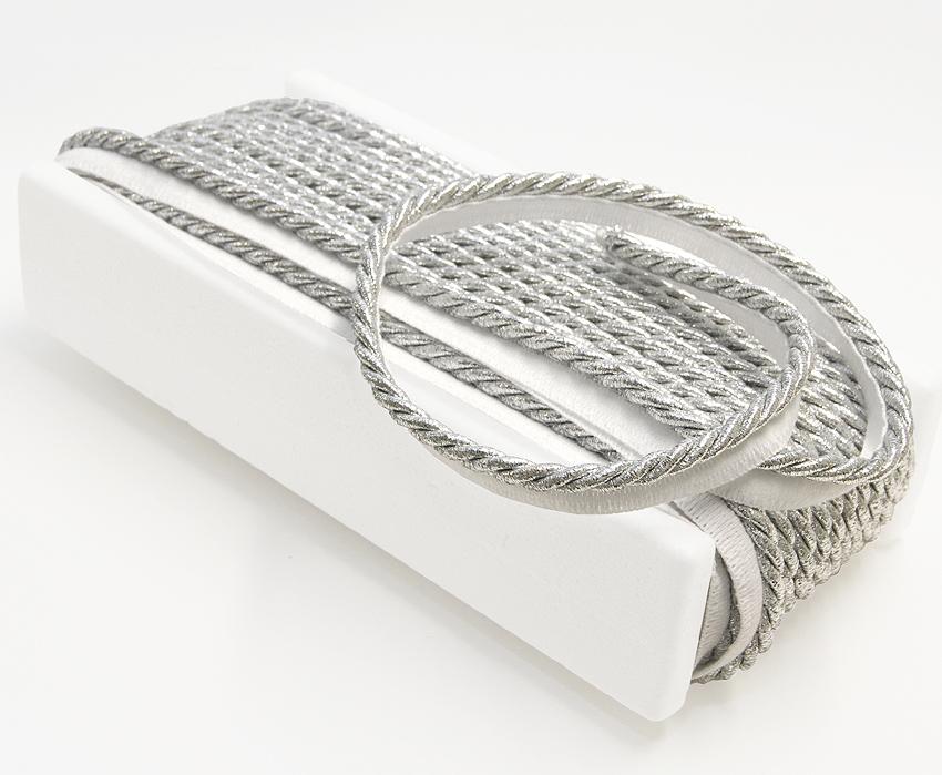 Terenauha lev. 20 mm, halk. 7 mm kirkas hopea (DT041HV), Ompelutarvikkeet, Terenauhat