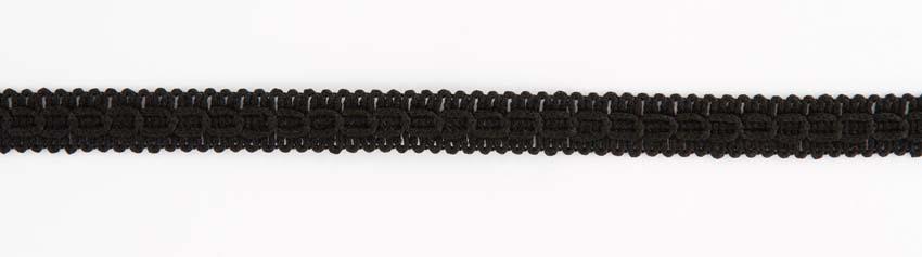 Koristenauha leveys 15mm Musta (DT037MV), Ompelutarvikkeet, Nauhat ja nyörit