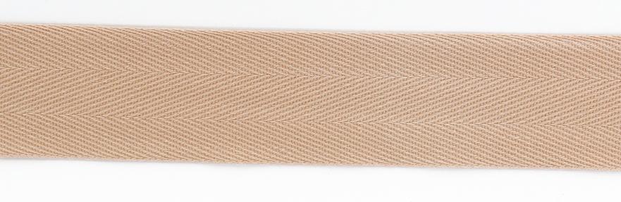 Kanttinauha puuvilla lev. 30mm beige (902213), Ompelutarvikkeet, Kanttinauhat, Puuvillanauhat